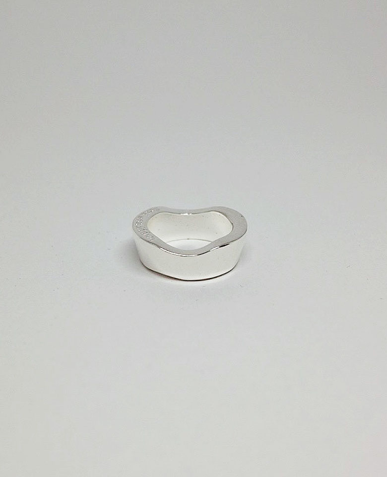 Wave Ring (Silver) / (Basic line)